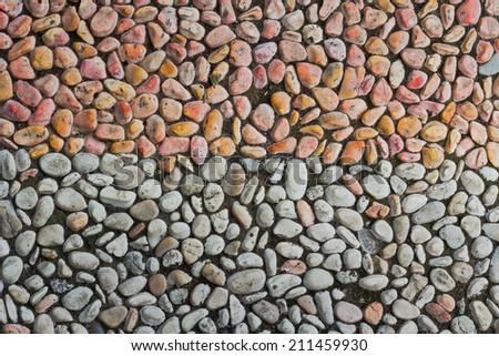 Stone Garden Path Texture - stock photo