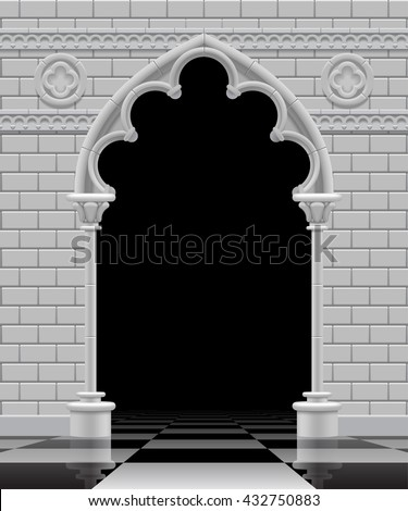 Gothic Arch Stock Images Royalty Free Images Amp Vectors