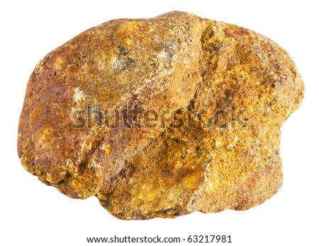 stone Granite,isolated on white with clipping path - stock photo