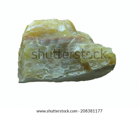 Stone, Isolated on a white background.