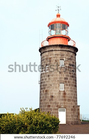 stone lighthouse in france