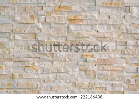 stone marble brick wall abstract for background. - stock photo