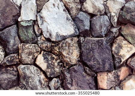 Stone or Rock Texture as Nature Background