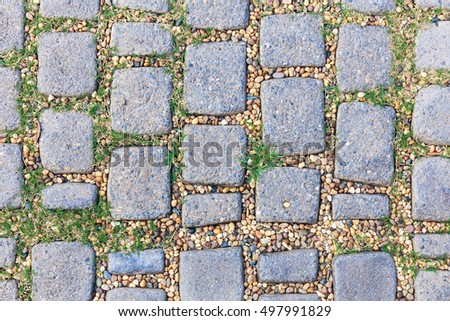 stone pattern pebbles path garden stock photo royalty free