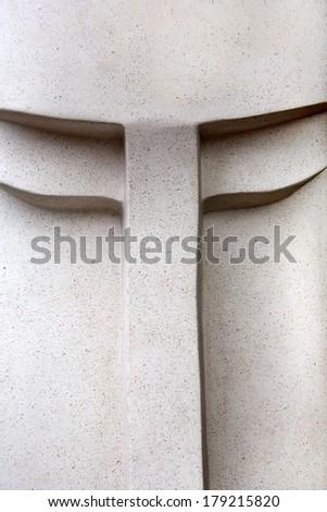 Stone sculpture - stock photo