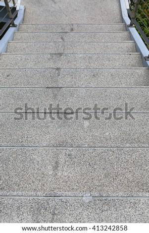 Stone stair  - stock photo