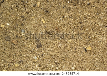stone surface dark brown color
