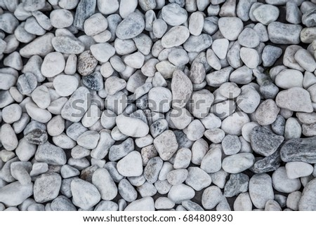 Stone Texture Background White Pebbles Wallpaper Stock Photo 100