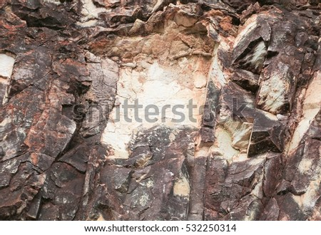 Stone texture  cliff of mountain  beautiful pattern for background.