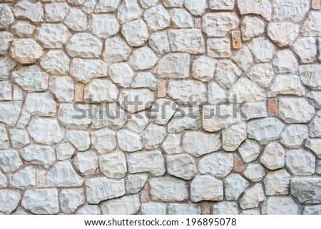 Stone wall texture. modern style design decorative  - stock photo