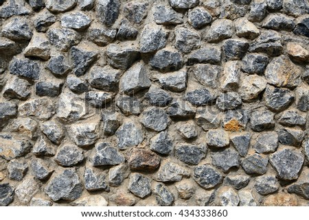 stone wall textured background  - stock photo
