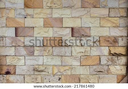 stone walls - stock photo