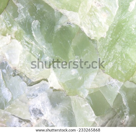 Stone walls, stone green background. - stock photo