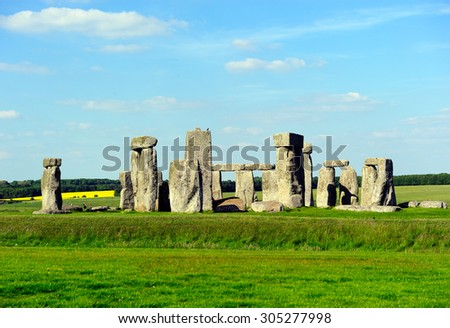 Stonehenge England, UK - stock photo