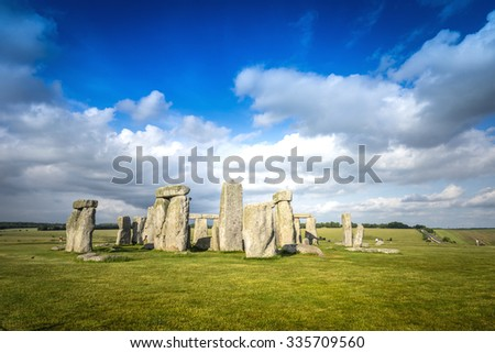 Stonehenge Historic Site in United Kingdom