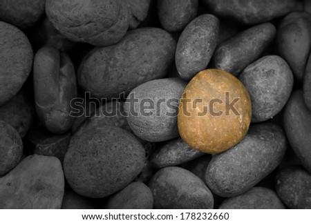 stones background. closeup of stones texture - stock photo