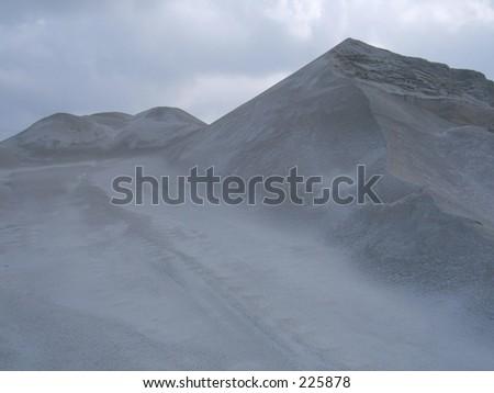stones in quarry - stock photo