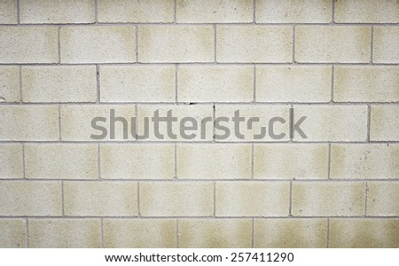 Stones in urban facade of building construction - stock photo