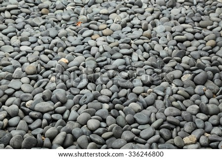 Stones & Rock on the garden - stock photo