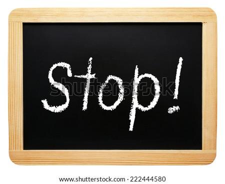 Stop ! - stock photo
