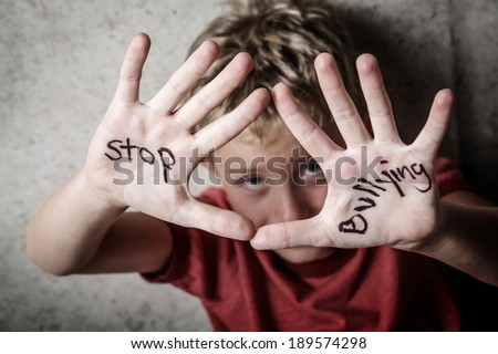 Stop bullying - stock photo