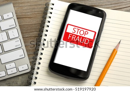 stop fraud alert on mobile phone