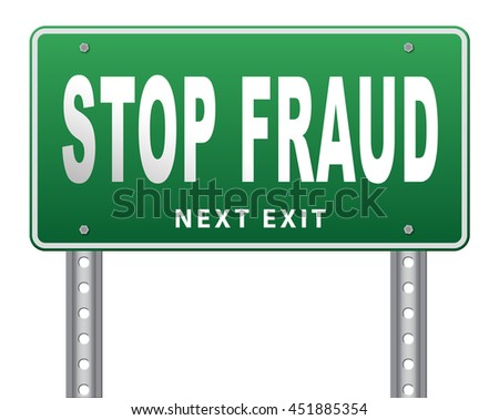stop fraud bribe and political or police corruption money corrupt cyber or internet crime 3D illustration, isolated, on white - stock photo