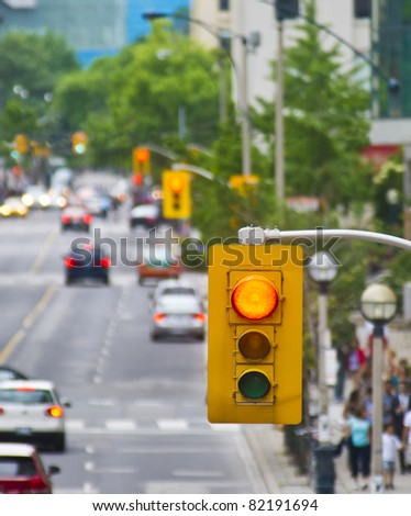 Stop Light - stock photo