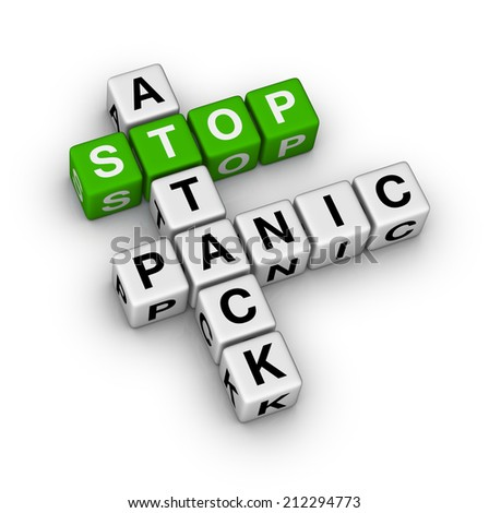 stop panic attack crossword puzzle