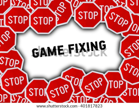 Stop sign and word game fixing