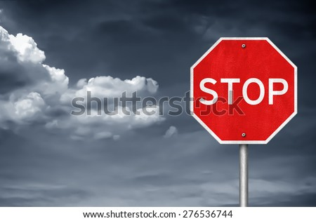 STOP - traffic sign