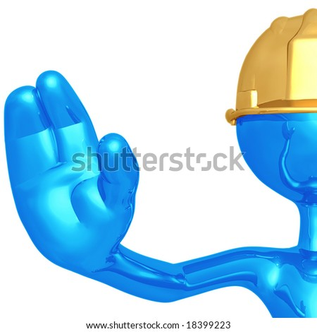 Stop Under Construction - stock photo