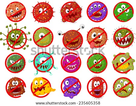 Stop virus - stock photo