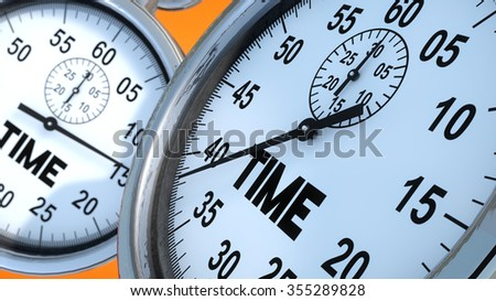 Stopwatch and time