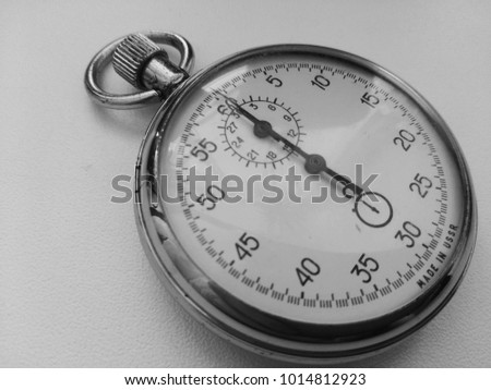 Stopwatch is an instrument capable of measuring time intervals with an accuracy of fractions of a second