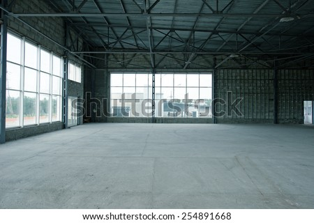 storage building - stock photo