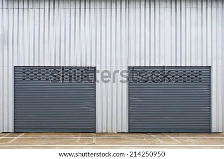 Storage unit - stock photo