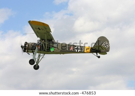Storch German aircraft - stock photo