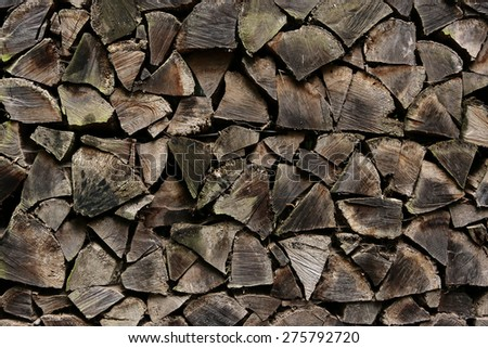 Stored Firewood texture