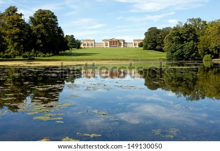 Stow landscape park, Buckinghamshire - stock photo