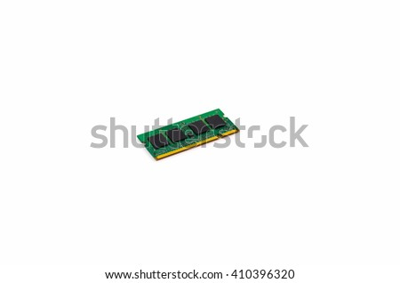 Strap memory for the computer and laptop - stock photo