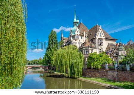 Strasbourg, Alsace, France - stock photo