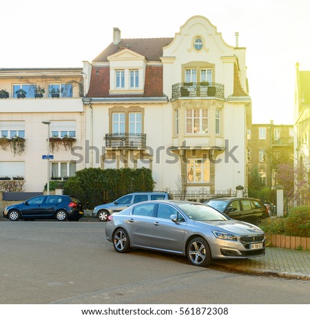 Automobile industry stock images royalty free images vectors shutterstock - Garage peugeot strasbourg ...
