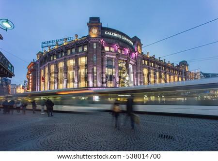 strasbourg tram stock images royalty free images vectors shutterstock. Black Bedroom Furniture Sets. Home Design Ideas