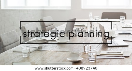 Strategic Planning Value Vision Management Concept - stock photo