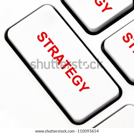Strategy button on keyboard