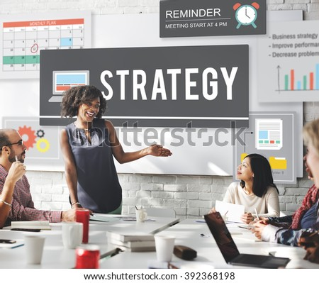 Strategy Operation Planning Tactics Vision Plan Concept - stock photo