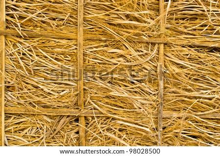 Straw - stock photo