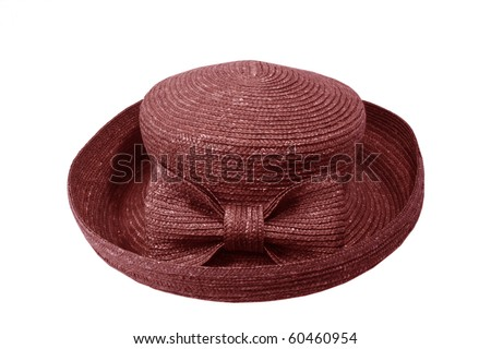 Straw church hat