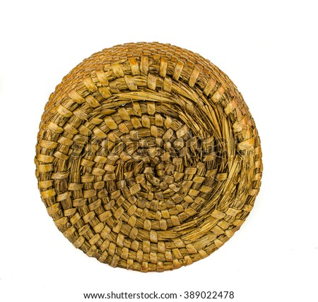 straw texture / bamboo texture and background / Old wicker texture background / Dry hay closeup image as natural background / dry straw. background or texture - stock photo